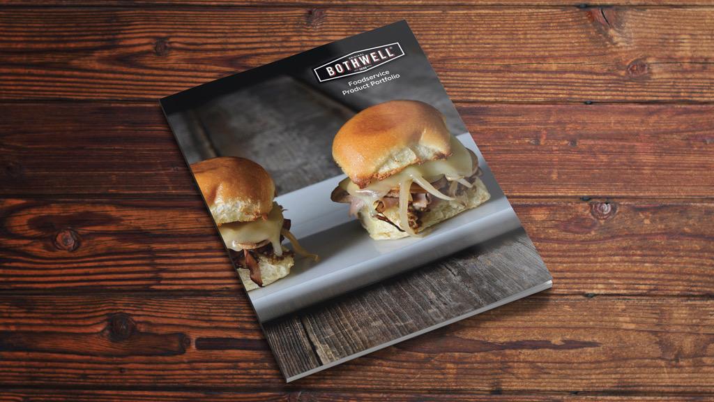 bothwell food service portfolio brochure cover