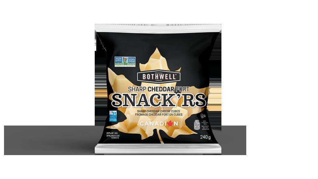 bothwell snackrs sharp cheddar 240g bag front