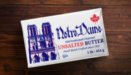 notre dame creamery unsalted butter 454g front