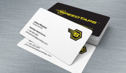 speedtaps stationery business card